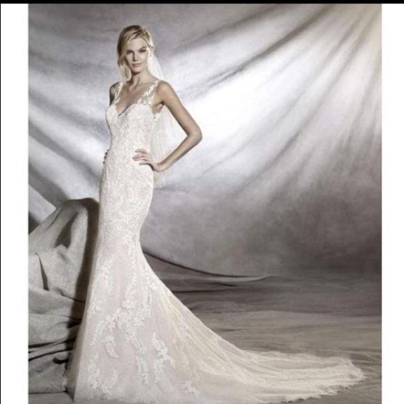 7a4012b35f Pronovias Orlara wedding dress- size 12. Pronovias.  M_5b1f27e5c2e9fe590622e9f6. M_5b1f27e645c8b3b294a5cc58
